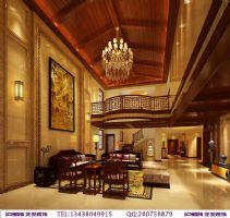 鹭湖宫新中式装修案例中式风格别墅