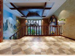 格林小镇装修案例麻雀装饰设计田园风格别墅