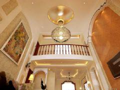大庆格林小镇装修案例麻雀装饰设计欧式风格别墅