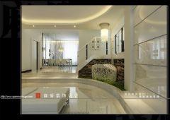 新城风景装修案例现代风格三居室