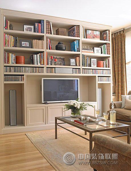 客厅书房装修效果图