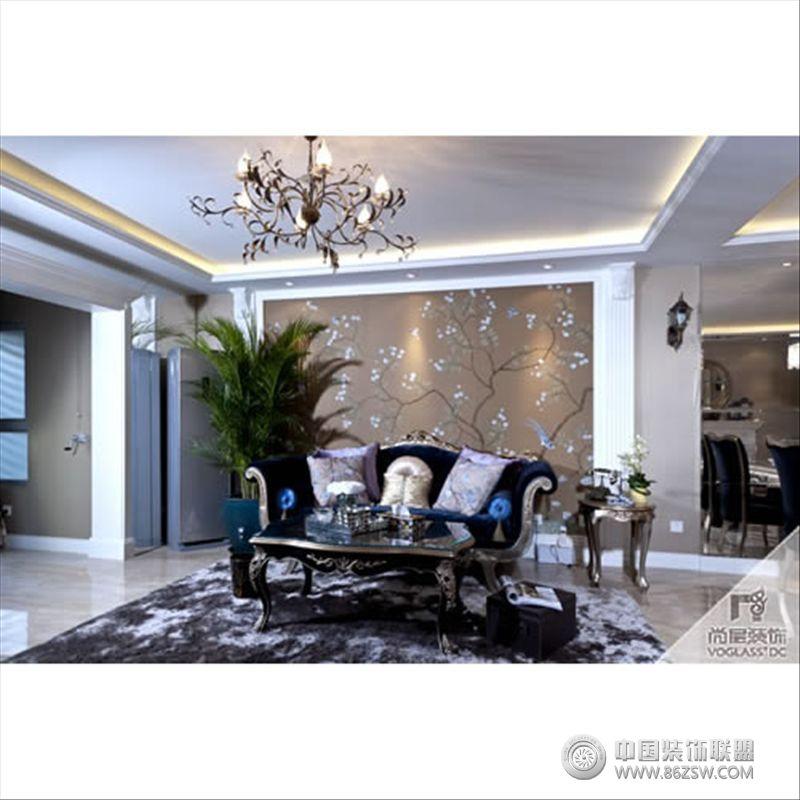 古典客厅装修图片