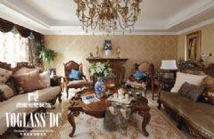 天津室内装修_圣诞节别墅设计活动美式风格别墅