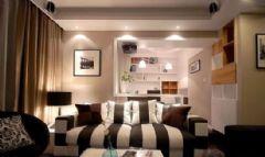 南京金之瑞装饰现代风格三居室