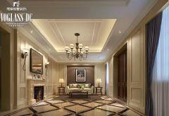 中海独墅岛 简欧风格案例简约客厅装修图片