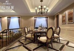 中海独墅岛 简欧风格案例简约餐厅装修图片