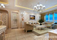 龙熙半岛现代风格三居室