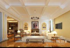 成都尚层装饰设计案例-交大庭院美式风格别墅