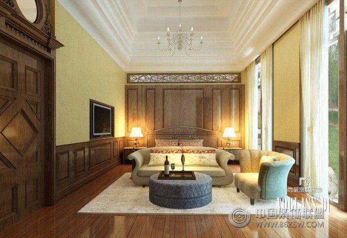 客厅画室装修欧式风格