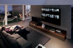 5款木制组合电视背景墙设计案例