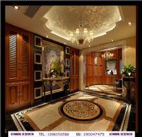 龙湾半岛美式风格别墅