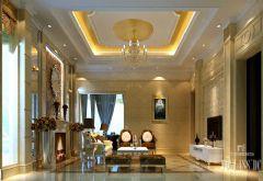 成都尚层装饰设计案例-城南逸家古典风格别墅