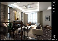 天津尚层装饰京基领域装修设计欧式风格别墅