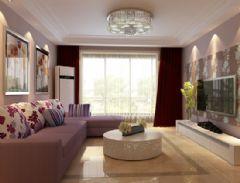 领秀慧谷现代风格二居室