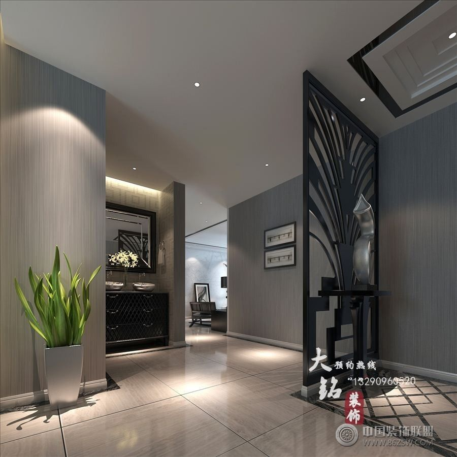 驻马店样板房 单张展示 展厅装修效果图 八六 中国 装饰联盟装修效果图