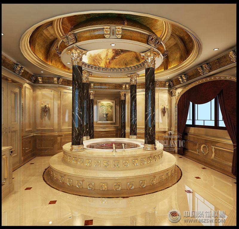 颐和原著欧式卫生间装修图片