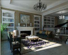 保利石象湖成都尚层装饰美式风格别墅