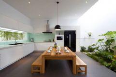 厨房后档板设计案例,实用又简单