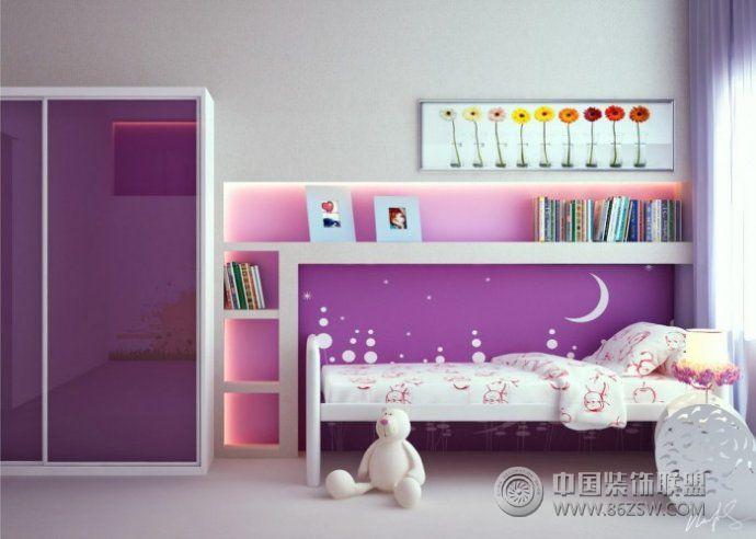 现代女孩房间设计案例整套大图展示_现代小户型装修图