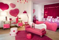 现代女孩房间设计案例
