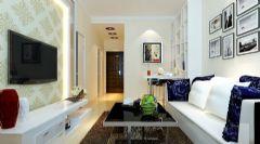 二居室-79平米-现代装修设计
