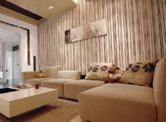 东冠逸景装修效果图现代风格二居室