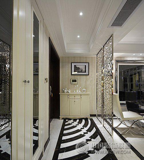 玄关创意设计方案-杭州智迪装饰工程有限公司装修案例