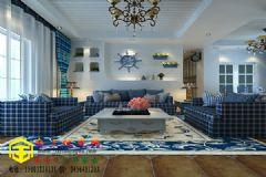 8万打造105平米地中海浪漫温馨您的家地中海风格二居室