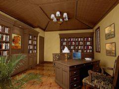 中海九号公馆-别墅-420平米-装修设计混搭风格别墅