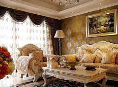 巨都桂花城装修效果图欧式风格二居室