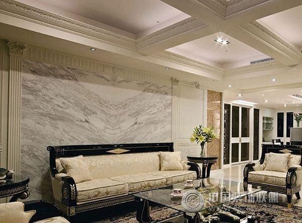 连园小区装修效果图欧式客厅装修图片