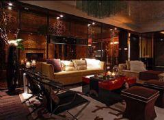 积家装修效果图混搭风格三居室