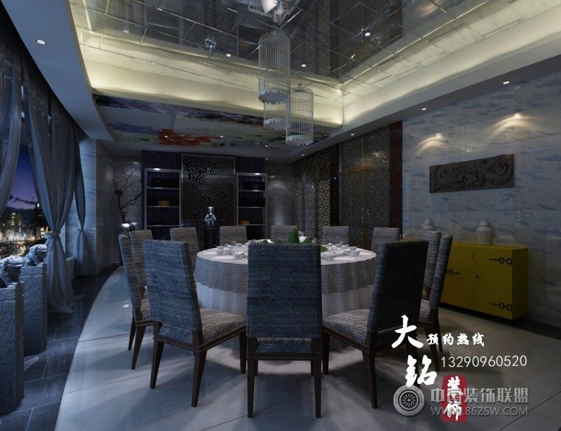 焦作龙源湖高档茶餐厅设计 单张展示 茶馆装修效果图 八六 中国 装饰