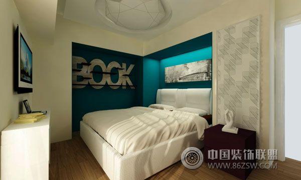 小户型卧室设计案例 阳台装修效果图 八六装饰