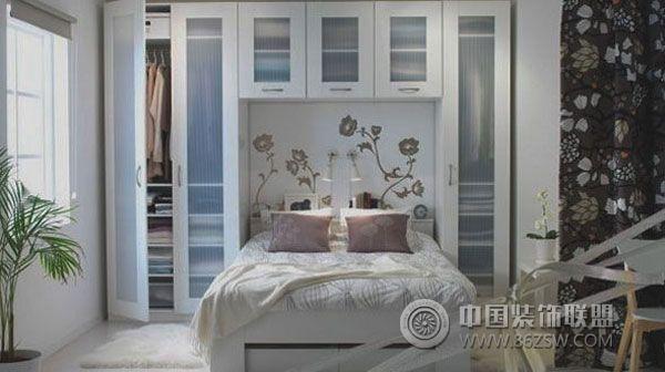 小户型卧室设计 案例 阳台 装修效果图 八六装饰