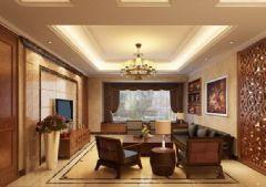 138平米三居室装修设计