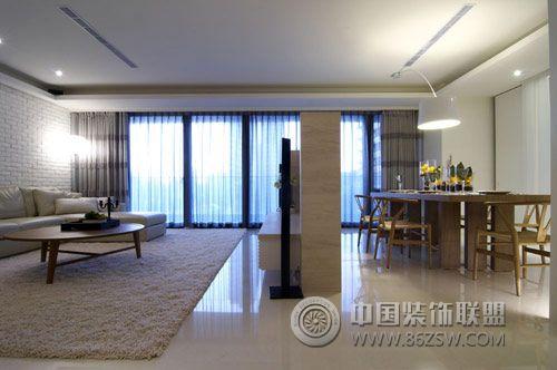 150平北欧时尚婚房欧式客厅装修图片