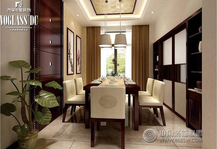 """会客厅木纹大理石黑檀中式花格相结合的主题,表达了""""梅花香自苦寒来"""""""