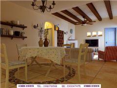 中海国际地中海风格三居室