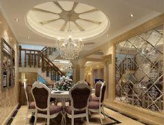 新泰绿城欧式风格三居室