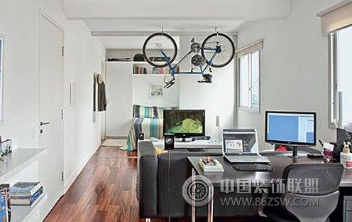 42平北欧迷你时尚公寓欧式客厅装修图片