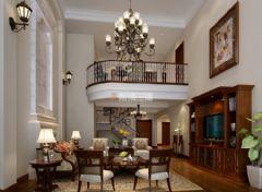 蜀郡联排别墅美式风格美式风格别墅