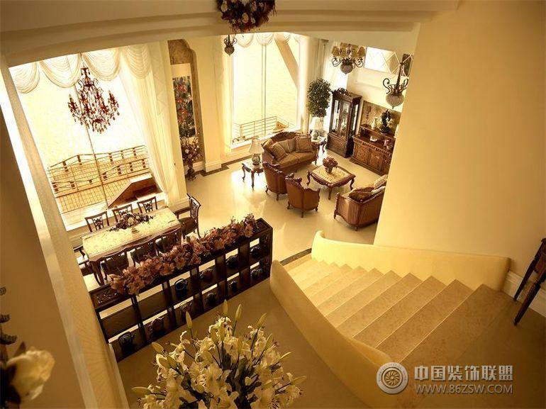 雅戈尔长岛花园-四居室-500平米-客厅装修效果图-八六