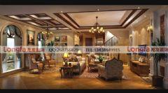 月映长滩美式风格设计推荐美式风格别墅