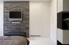 134平现代简约低调奢华美家现代简约卧室装修图片