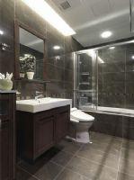 134平现代简约低调奢华美家现代简约卫生间装修图片