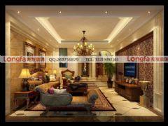 紫檀山欧式风格装修案例推荐欧式风格四居室