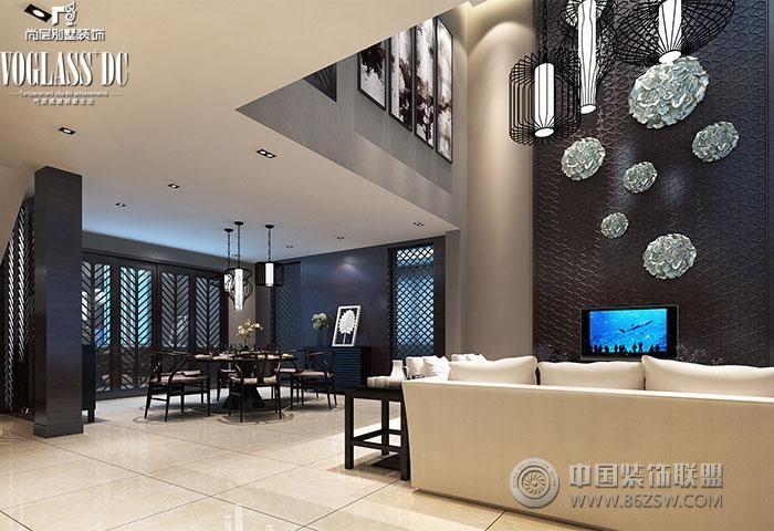 东山别墅-客厅装修图片