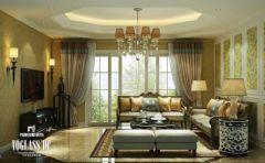 成都尚层装饰年轻的欧式欧式风格三居室