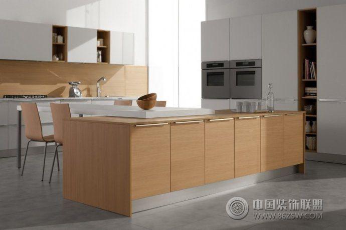 厨房时尚创意设计方案-厨房装修图片